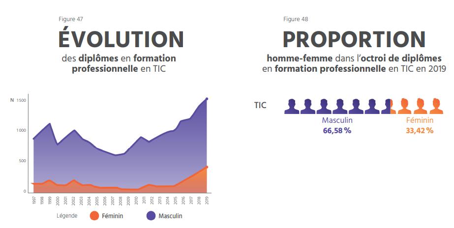 TECHNOCompétences_Diagnotic Sectoriel 2021-2024_07_FORMATION_Formation professionnelle en TI au Québec en 2021